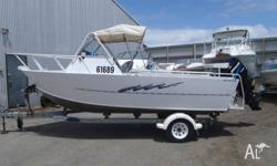 Trailcraft 5.6m Runabout- 1984 Model 115hp Mercury 4