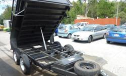 Trailer 10x6 Heavy Duty Tipper - Superior Trailers,