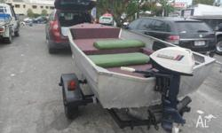 trailer registered for 8 month >boat with marine carpet