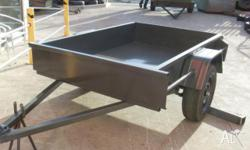 Trailer Box 6x4 Light Duty - Entry Level Basic Trailer