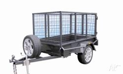 Trailer Caged CAGED 8x5 Single Axle Trailer, 2011, Cage