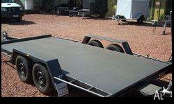 Trailer Car Carrier - Box, Semi Flat & Flat Top - We