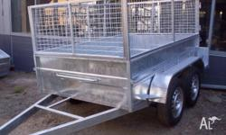 trailer city 8x5x21, 2011, galvanised, Cage Trailer,