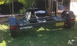 Gipsy Car Trailer - great condition, tows extremely