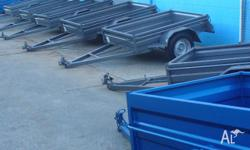 TRAILERS BOX STYLES NEW FLOOR STOCK, 2010, Box Trailer,