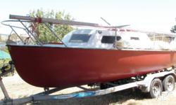 18 ft trailor sailor for sale, price reduced as we are