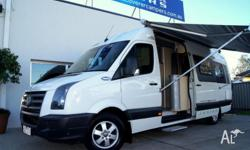 VW Crafter Extra Long Wheel Base TRAKKA Jabiru Turbo