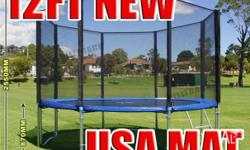 12FT Trampoline - Features & Benefits: FREE Anchor Kit
