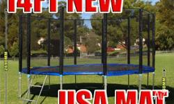 14FT Trampoline - Features & Benefits: FREE Anchor Kit