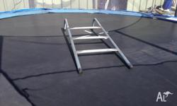 12 ft trampoline, getting rid of it due to downsizing