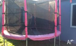 Big trampoline in immaculate condition for sale, colour
