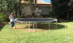 FREE I have a 15 foot trampoline frame to give away (2