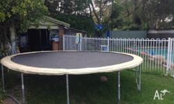 Selling our huge trampoline as we are moving and no