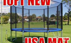 Trampoline/GYM - 10FT Trampoline - Features &
