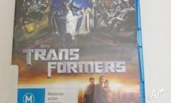Transformers Blu-Ray Collection 3 Movies on 3 Discs
