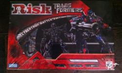 Parker Brothers Risk Transformers Cybertron Battle