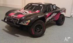 Traxxas Slash LCG 4x4 with lots of upgrades Team Orion