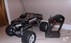 For sale is my Traxxas Stampede 2wd remote control
