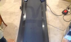 tread mill as new 100 kilo check time speed calorie and