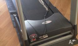 Treadmill for sale Old but still works fine. Pick up