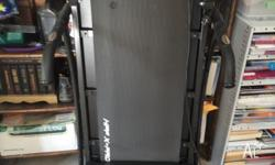 Treadmill for sale. Is electric with pulse rate check
