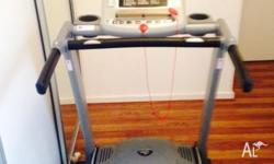 A treadmill for sale, originally purchased a year ago