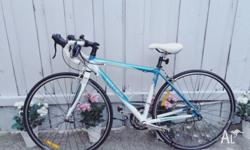 Hey! Im selling my Trek 1.2 wsd Road Bike I have used
