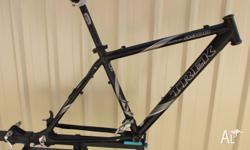 "For sale is a Trek Alpha 4900 alloy MTB frame in 18""."