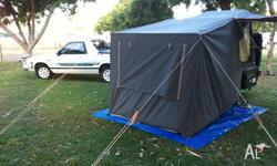 Small Trek Camper Trailer,Good Condition, Ice box at