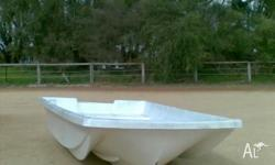 Futura 8ft 2 inch (2.5m) tri hull dinghy new most