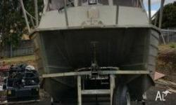 22ft Tristar Alloy Cat .Always Garaged . This boat is