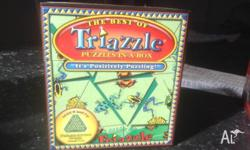 Triazzle frog puzzle for ages 8 and up - $10 Never