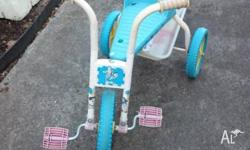 Moving Giving away free this tricycle bike shown as the