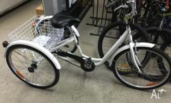 We sell all types of 3 wheeled TRICYCLES give us a call