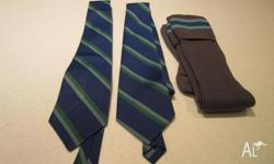 1 x Tie never worn 1 x Tie and Long Socks still in good