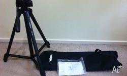 Here is a new Velbon EX-430 Tripod. Included with the