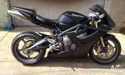 About this bike. Triumph 675 Daytona 2008 with only