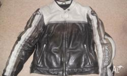 Triumph Jacket small size 10 to 12. Is only 2 years