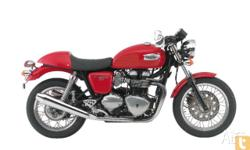 TRIUMPH, THRUXTON 900, MY10, 2011, RED, ROAD, 865cc,