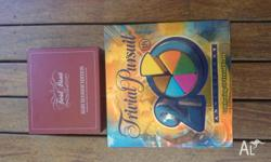 Perfect condition Trivia Pursuit boardgame with extra