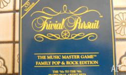 Trivial Pursuit CD Version (1994). The music master