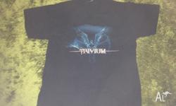 Trivium Band Tshirt Size: L Good used condition Payment