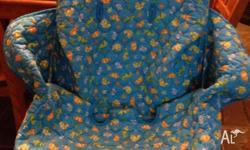 Selling a no longer used trolley cover, it is blue