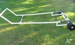 For Sale a PVC trolley for a small/medium sailboat. Is