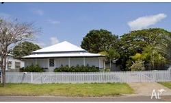 A lovingly restored Queenslander, located in the much