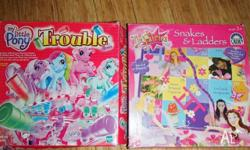 My Little Pony Trouble Game and Fairies Snakes &