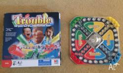 The game of Trouble, great fun for the whole family. In