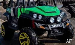 New and Improved Beach Buggy 24volt Run in Series to