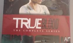 True Blood box set. Every series brand new and still