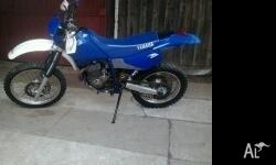 Hey the im selling my tt250r yamaha The bike is in good